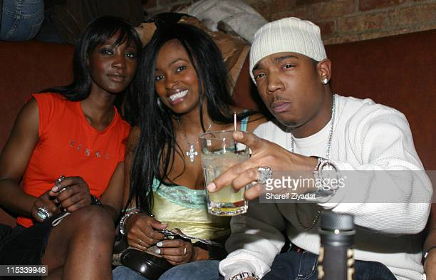 Kelly Wormi ck and Ja Rule during Olympus Fashion Week Fall 2005 Sweetface by Jennifer Lopez and Andy Hilfiger After Party at Ruby Falls in New York...