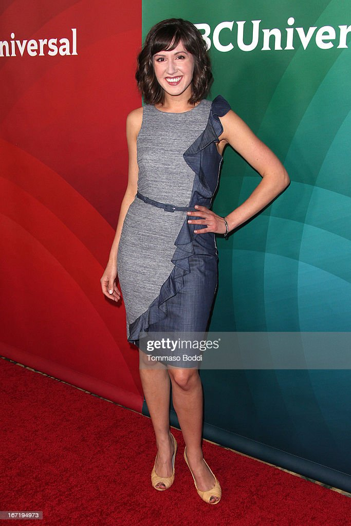 Kelly Wrooman attends the 2013 NBC Summer Press Day held at The Langham Huntington Hotel and Spa on April 22, 2013 in Pasadena, California.