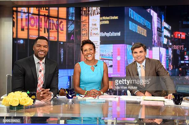AMERICA Kellyanne Conway discusses the Trump Campaign on 'Good Morning America' 9/7/16 airing on the ABC Television Network MICHAEL