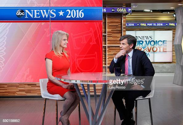 AMERICA Kellyanne Conway is a guest on 'Good Morning America' 5/10/16 ...