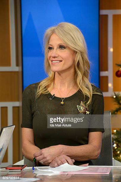 AMERICA Kellyanne Conway is a guest on 'Good Morning America' Monday December 12 airing on the ABC Television Network KELLYANNE