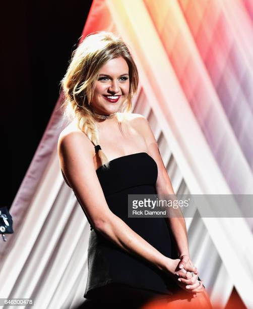 Kelsea Ballerini performs at the TJ Martell Foundation 9th Annual Nashville Honors Gala at Omni Hotel on February 27 2017 in Nashville Tennessee