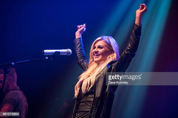 Kelsea Ballerini performs in concert at Gramercy Theatre on July 16 2015 in New York City