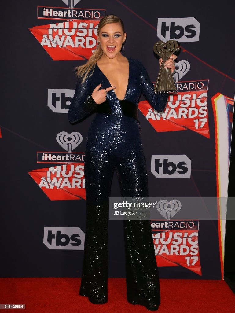 Kelsea Ballerini poses during the 2017 iHeartRadio Music Awards at The Forum on March 5, 2017 in Inglewood, California.