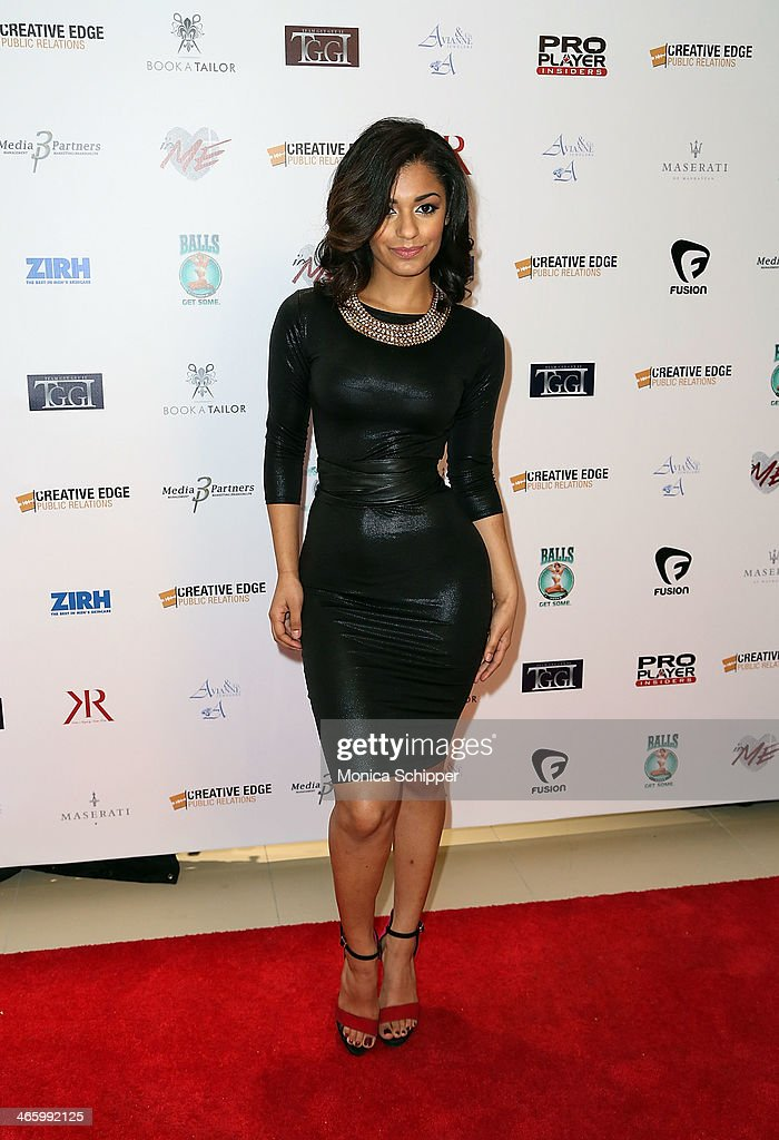 Kelsey Adams attends the 7th Annual Music Meets Fashion event on January 30, 2014 in New York City.