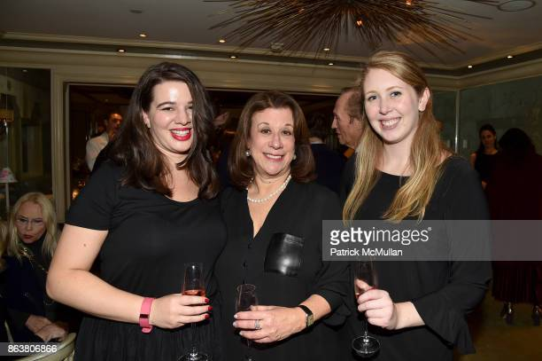 Kelsey Albertson Marti Malovany and Morgan Dodds attend the launch of Second Bloom Cathy Graham's Art of the Table hosted by Joanna Coles and Clinton...