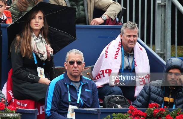 Kelsey Anderson during the match Kevin Anderson and Rafa Nadal corresponding to the Barcelona Open Banc Sabadell on April 27 2017