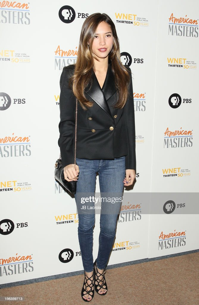 Kelsey Chow attends the 'Inventing David Geffen' Los Angeles Premiere held at Writer's Guild Theater on November 13, 2012 in Los Angeles, California.