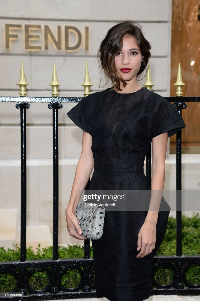 <a gi-track='captionPersonalityLinkClicked' href=/galleries/search?phrase=Kelsey+Chow&family=editorial&specificpeople=4209642 ng-click='$event.stopPropagation()'>Kelsey Chow</a> attends the opening of Fendi's new boutique at 51 Avenue Montaine on July 3, 2013 in Paris, France.