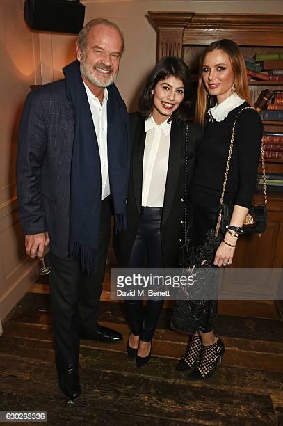 Kelsey Grammer Alessandra Mastronardi and Georgina Chapman attend a VIP screening of 'Lion' hosted by Harvey Weinstein and Georgina Chapman at Soho...