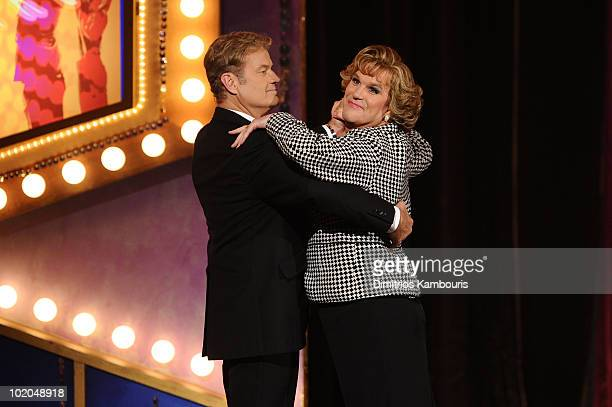Kelsey Grammer and Douglas Hodge perform onstage during the 64th Annual Tony Awards at Radio City Music Hall on June 13 2010 in New York City