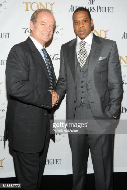 Kelsey Grammer and JayZ attend AUDEMARS PIGUET 'Time To Give' Celebrity Watch Auction to Benefit Broadway Cares / Equity Fights AIDS Auction at Fours...