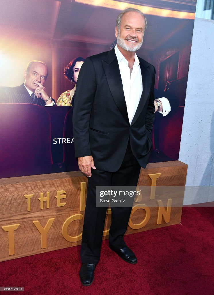 Kelsey Grammer arrives at the Premiere Of Amazon Studios' 'The Last Tycoon' at the Harmony Gold Preview House and Theater on July 27, 2017 in Hollywood, California.
