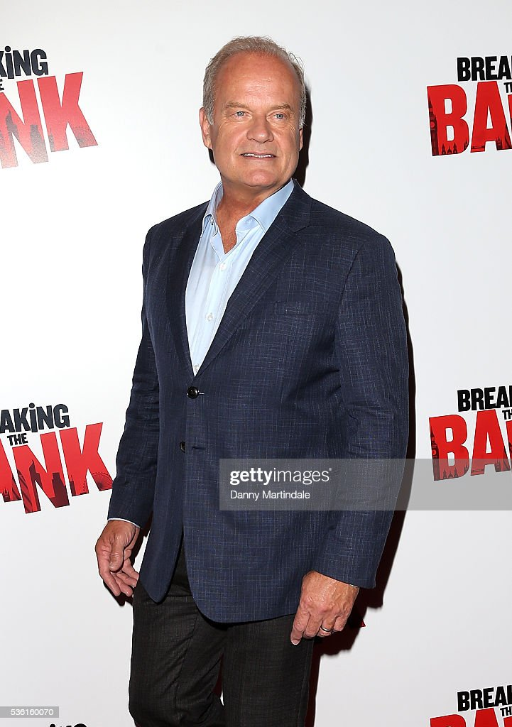 <a gi-track='captionPersonalityLinkClicked' href=/galleries/search?phrase=Kelsey+Grammer&family=editorial&specificpeople=210500 ng-click='$event.stopPropagation()'>Kelsey Grammer</a> arrives for the UK gala screening of 'Breaking The Bank' at The Empire Cinema on May 31, 2016 in London, England.