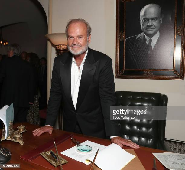 Kelsey Grammer attends the Amazon Prime Video premiere of the original drama series 'The Last Tycoon' at Chateau Marmont on July 27 2017 in Los...