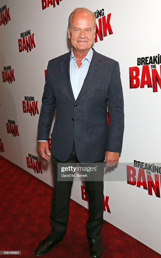<a gi-track='captionPersonalityLinkClicked' href=/galleries/search?phrase=Kelsey+Grammer&family=editorial&specificpeople=210500 ng-click='$event.stopPropagation()'>Kelsey Grammer</a> attends the UK gala screening of 'Breaking The Bank' at Empire Leicester Square on May 31, 2016 in London, England.