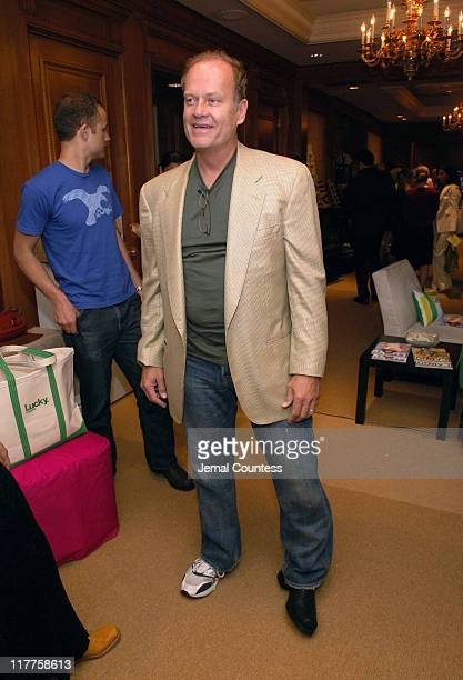Kelsey Grammer in Frye Boots at the Fyre gift station