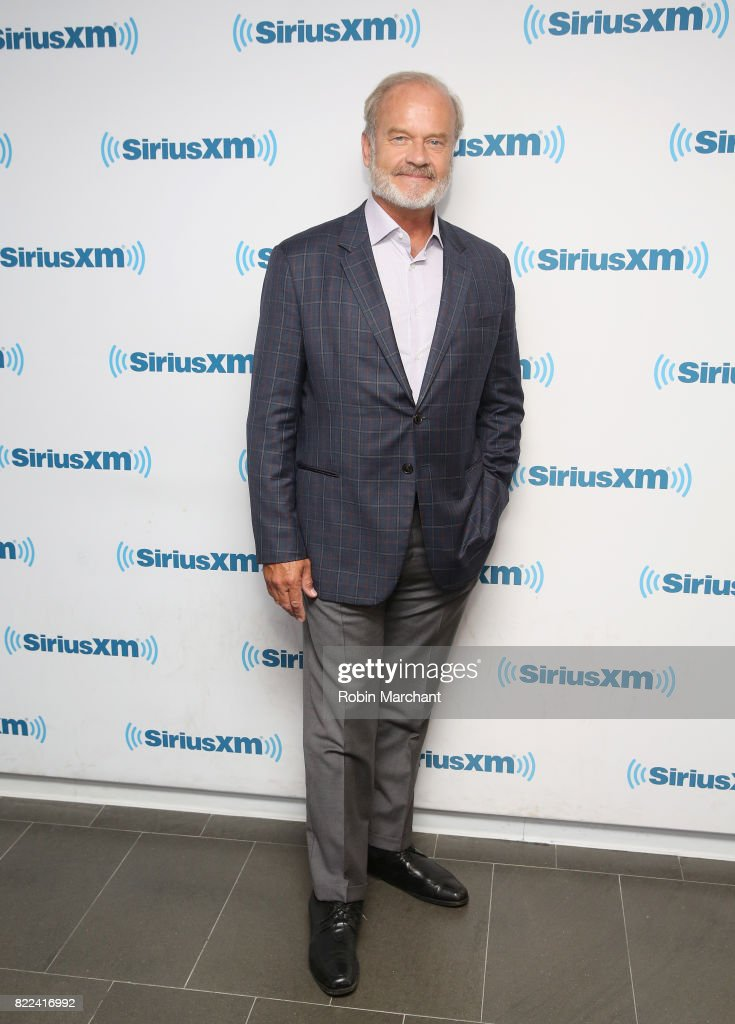 Kelsey Grammer visits at SiriusXM Studios on July 25, 2017 in New York City.