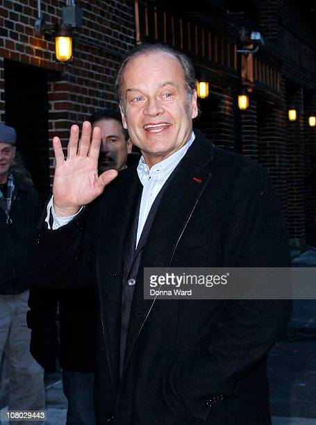 Kelsey Grammer visits 'Late Show With David Letterman' at the Ed Sullivan Theater on January 13 2011 in New York City