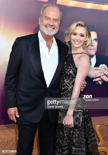 Kelsey GrammerGreer Grammer arrives at the Premiere Of Amazon Studios' 'The Last Tycoon' at the Harmony Gold Preview House and Theater on July 27...