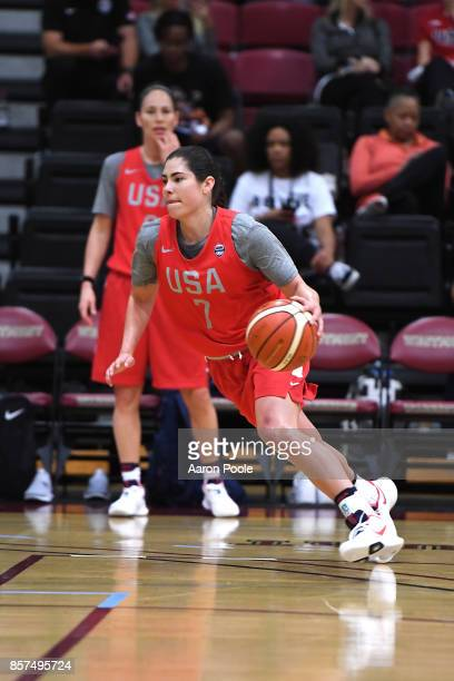 Kelsey Plum of the 2017 USA Women's National Team during training camp at Westmont College on September 30 2017 in Santa Barbara California NOTE TO...
