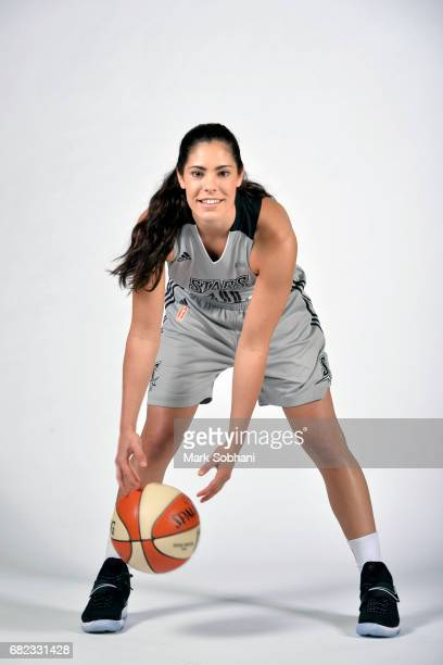 Kelsey Plum of the San Antonio Stars poses for a photo at media day on Wednesday May 10 at the ATT Center in San Antonio Texas NOTE TO USER User...