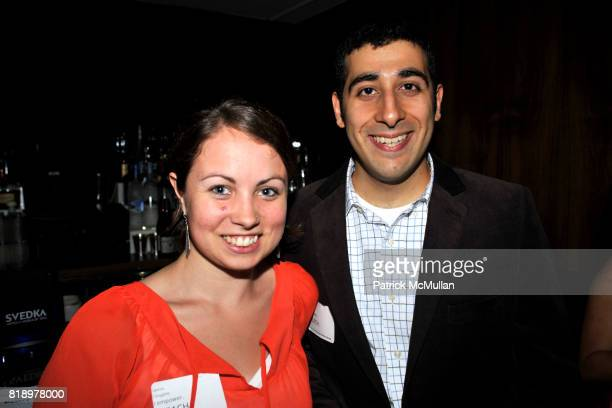 Kelsey Rennebohn and Nirad Mahdi attend The East Harlem School presents 2010 Spring Poetry Slam at Highline Ballroom on May 4 2010 in New York City