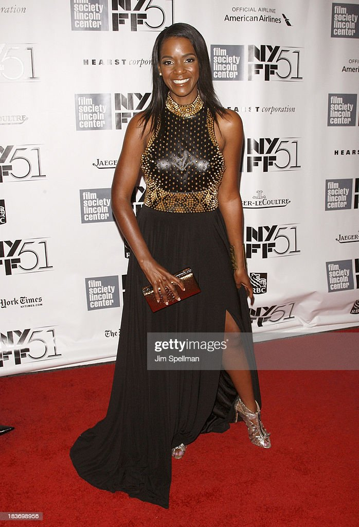 Kelsey Scott attends the '12 Years A Slave' Premiere during the 51st New York Film Festival at Alice Tully Hall at Lincoln Center on October 8, 2013 in New York City.