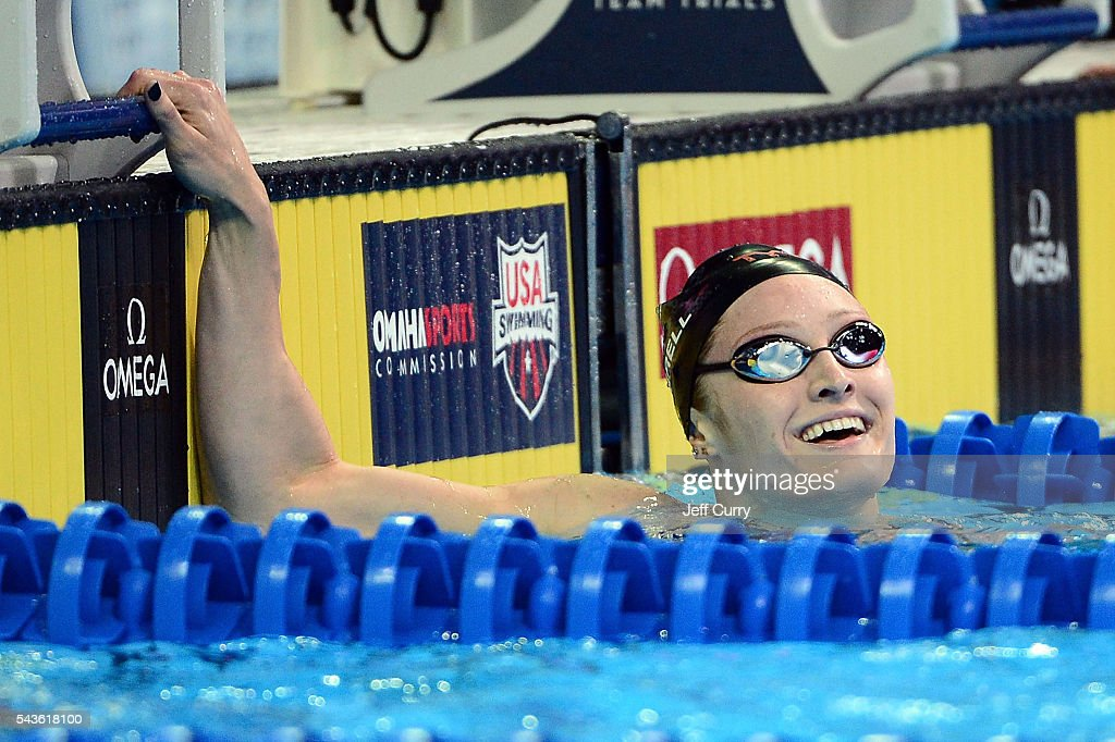 Kelsi Worrell of the United States competes in a preliminary heat of the Women's 200 Meter Butterfly during Day 4 of the 2016 U.S. Olympic Team Swimming Trials at CenturyLink Center on June 29, 2016 in Omaha, Nebraska.