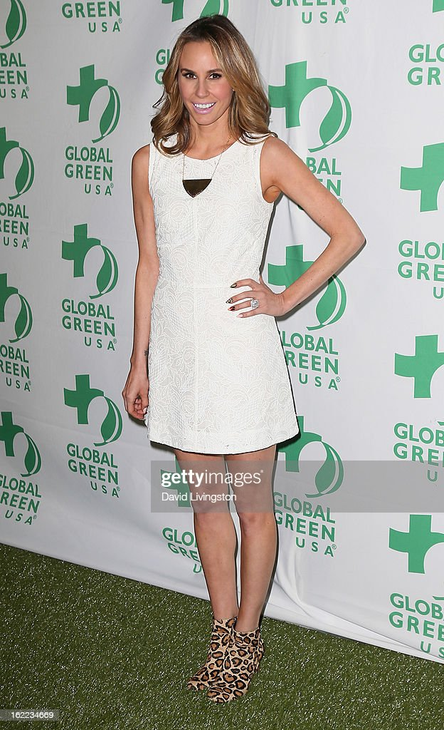 Keltie Colleen attends Global Green USA's 10th Annual Pre-Oscar Party at Avalon on February 20, 2013 in Hollywood, California.