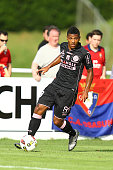 Kelvin Amian of Toulouse during the Pre season friendly match between Toulouse Fc and Osasuna on July 22 2016 in Hendaye France