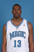 Kelvin Cato of the Orlando Magic poses for a head shot at the TD Waterhouse Centre on October 3 2005 in Orlando Florida NOTE TO USER User expressly...