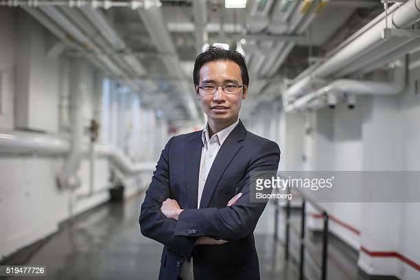 Kelvin Teo Harvard Business School student and cofounder of Funding Societies stands for a photograph at the school in Boston Massachusetts US on...