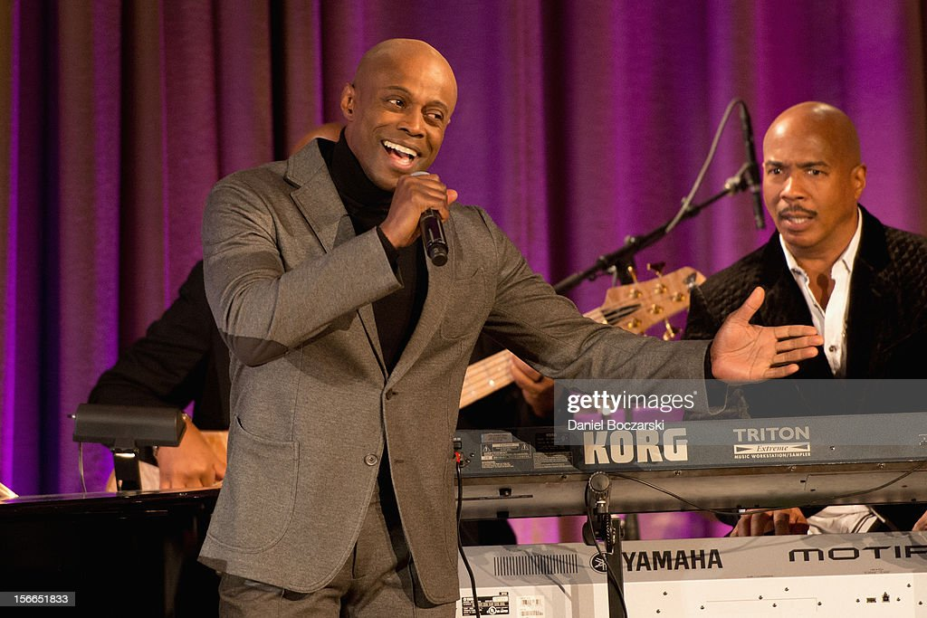 Kem attends An Evening with Berry Gordy at the Art Institute Of Chicago on November 17, 2012 in Chicago, Illinois.