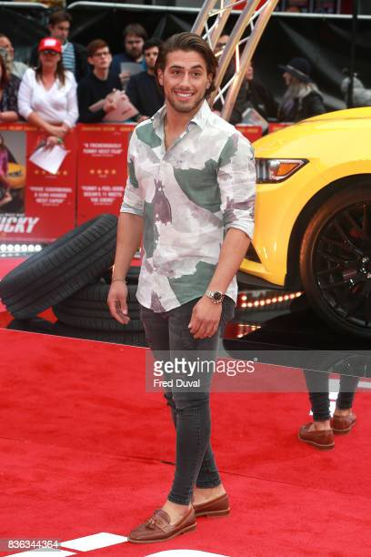 Kem Cetinay arrives at the 'Logan Lucky' UK premiere held at Vue West End on August 21 2017 in London England