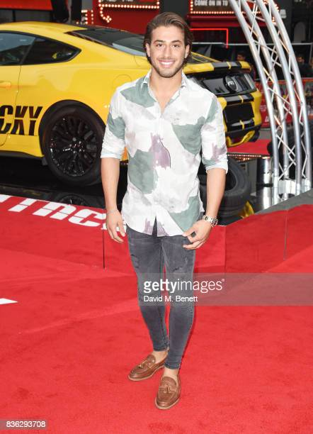 Kem Cetinay attends the 'Logan Lucky' UK Premiere at Vue West End on August 21 2017 in London England