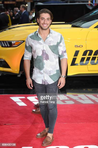 Kem Cetinay attends the UK premiere of 'Logan Lucky' at the Vue West End on August 21 2017 in London England