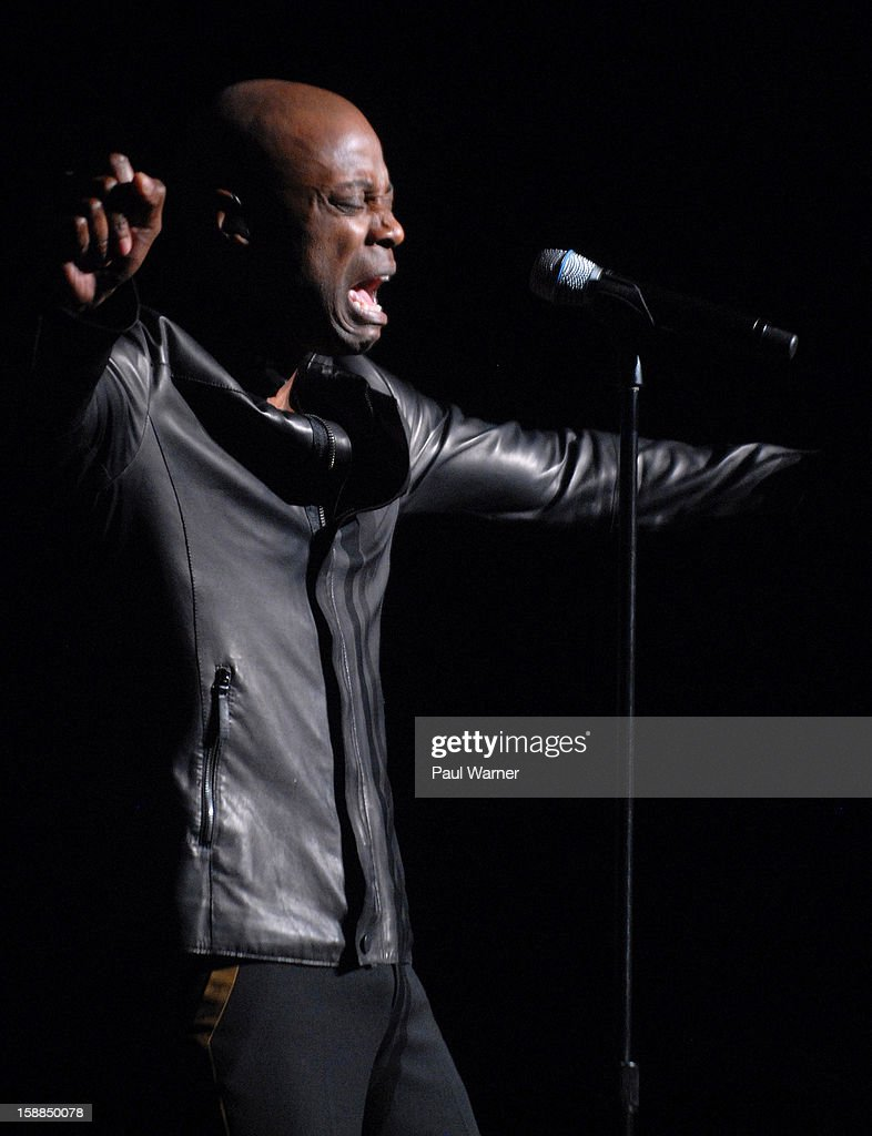 Kem performs at the Fox Theatre on December 31, 2012 in Detroit, Michigan.