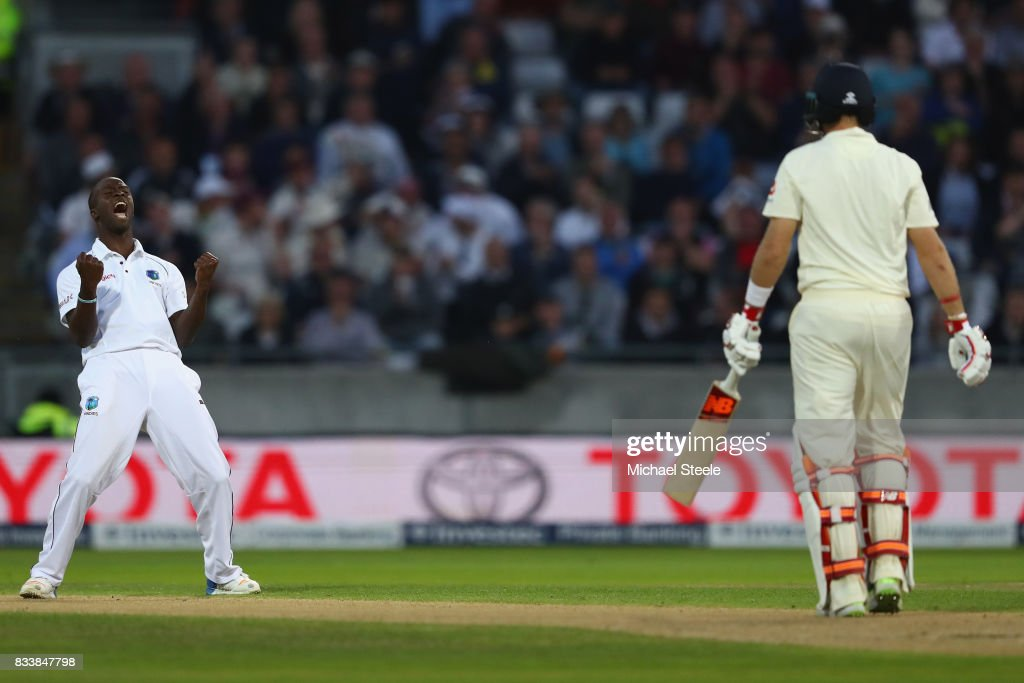 England v West Indies - 1st Investec Test: Day One