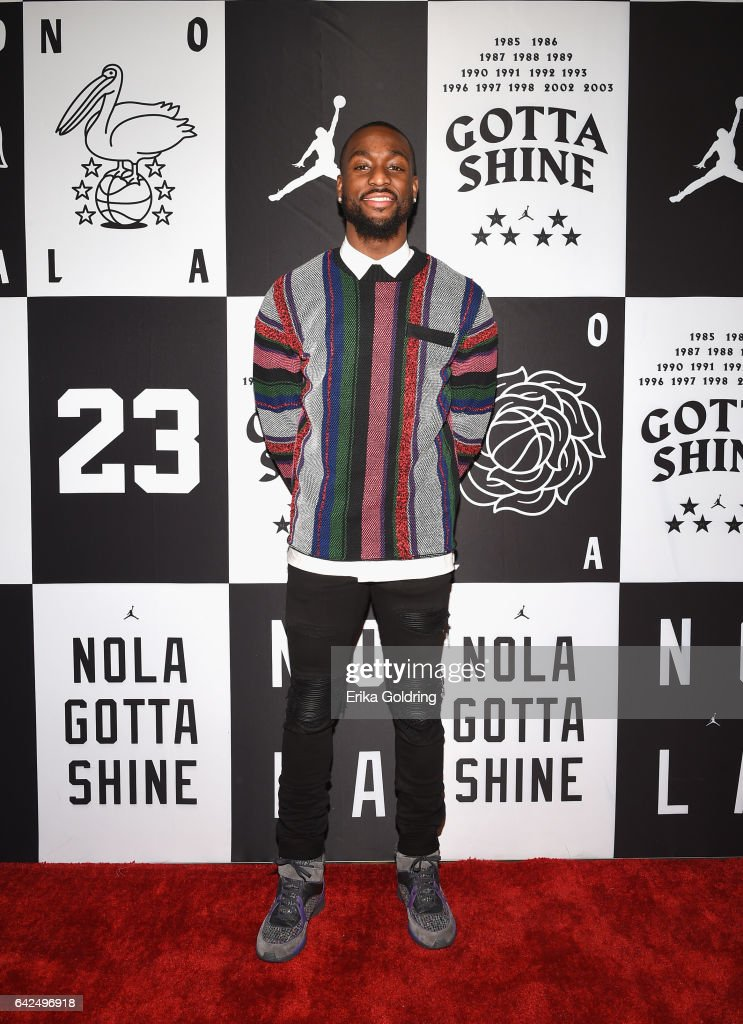Kemba Walker of Charlotte Hornets attends Jordan Brand: 2017 All-Star Party at Seven Three Distilling Co. on February 17, 2017 in New Orleans, Louisiana.