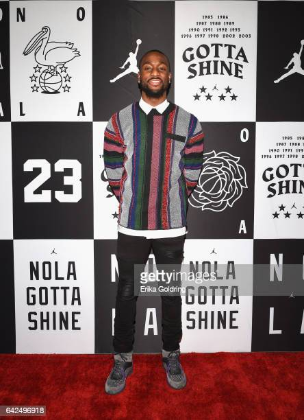 Kemba Walker of Charlotte Hornets attends Jordan Brand 2017 AllStar Party at Seven Three Distilling Co on February 17 2017 in New Orleans Louisiana