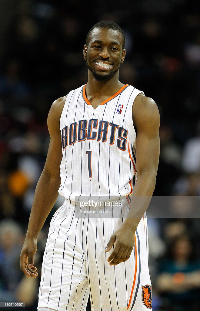 Kemba Walker #1 of the Charlotte Bobcats reacts to a call during their game against the Houston Rockets at Time Warner Cable Arena on January 10, 2012 in Charlotte, North Carolina.