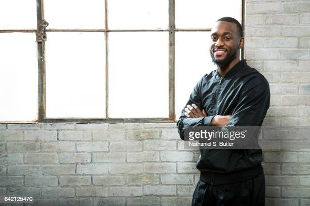 Kemba Walker of the Charlotte Hornets poses for a photo during the 2017 AllStar Media Circuit at the Ritz Carlton in New Orleans LA NOTE TO USER User...