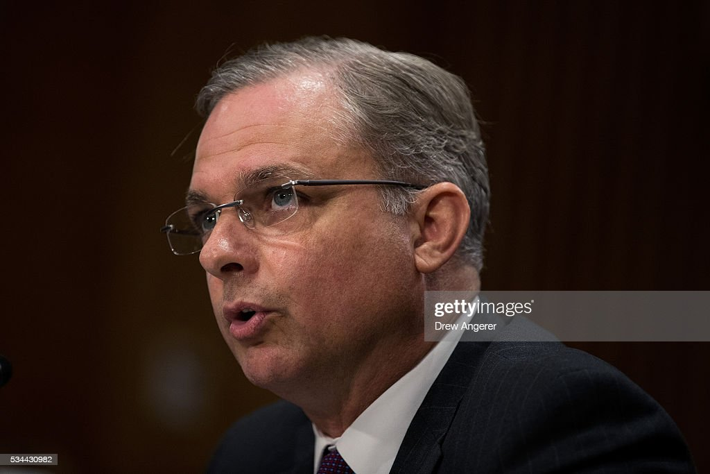 Kemp Chester, associate director for the National Heroin Coordination Group at the Office of National Drug Control Policy, testifies during a Senate Foreign Relations Committee hearing concerning cartels and the U.S. heroin epidemic, on Capitol Hill, May 26, 2016, in Washington, DC. According to the U.S. Centers for Disease Control and Prevention, from 2002 to 2013 the rate of heroin-related deaths quadrupled in the United States, with most of the increase coming after 2010.