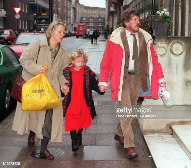 Ken and Sarah Edwards arrive with their daughter Sophie at the General Medical Council in London this morning to hear the continuing case against...