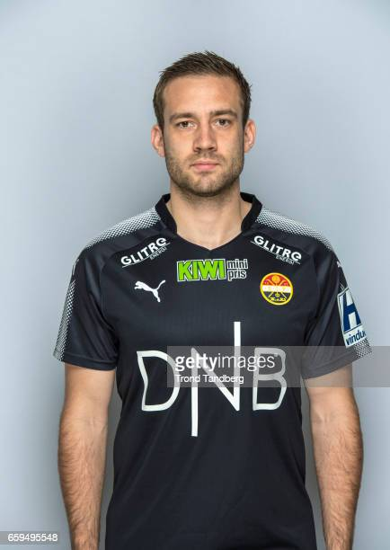 Ken Andre Madsen of Team Stromsgodset Fotballklubb during Photocall on March 17 2017 in Drammen Norway