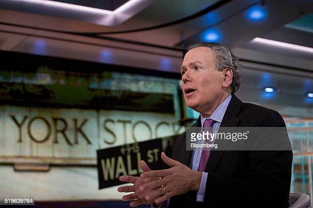 Ken Bentsen president and chief executive officer of the Securities Industry and Financial Markets Association speaks during a Bloomberg Television...
