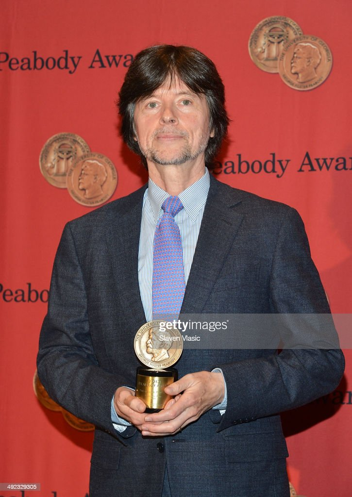 Ken Burns attends 73rd Annual George Foster Peabody awards at The Waldorf=Astoria on May 19 2014 in New York City