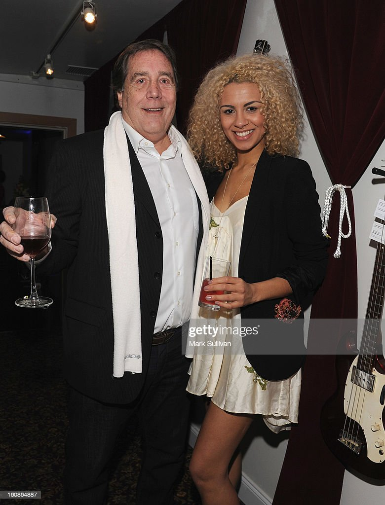 Ken Caillat and Holly Quin-Ankrah attend The 55th Annual GRAMMY Awards - P&E Wing Event Honoring Quincy Jones And Al Schmitt held at The Village on February 6, 2013 in West Los Angeles, California.