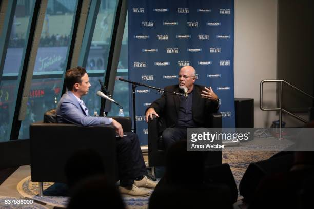 Ken Coleman interviews Sirius XM host Dave Ramsey during Money Expert Dave Ramsey Celebrates 25 Years On The Radio During A SiriusXM Town Hall at...